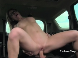 Perfect ass babe doggy banged in car picture slut