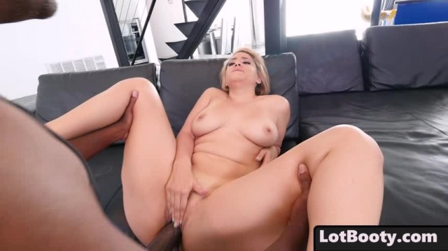 Fat ass blonde busty MILF Alix Lovell gets huge black dick picture slut