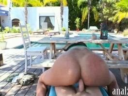 Huge boobs woman anal fucked outdoors and caught on cam picture slut