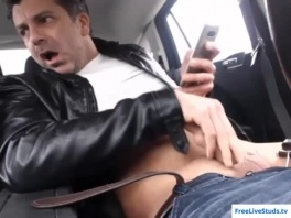 Hot amateur daddy toying ass in the car picture slut