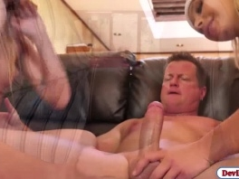 Eric fucks two hot babes after trespassing into his house picture slut