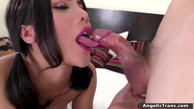Tgirl Asian screwed her ass by studs cock picture slut