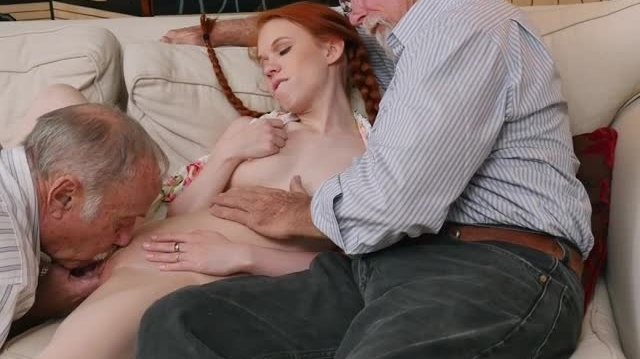 Teen Ginger Dolly Little Gets Her Pussy Eaten picture slut