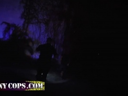 Cop makes a criminal fuck him in empty street at night picture slut