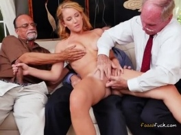Teen Raylin Ann Has Her Pussy Fingered By Old Men picture slut