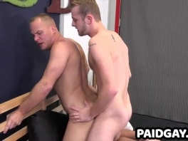 Straight jock gets blowjob and bareback anal for first time picture slut
