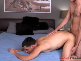 Twink gets blowjob from straight jock before anal picture slut