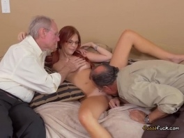 Teen Zara Ryan Gets Pleasured By Old Men picture slut