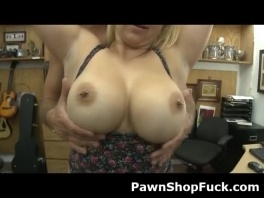 Big Titty Blonde Getting Banged In The Back Of A Pawn Shop picture slut