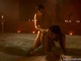 Exotic Lovers In The Indian Sauna picture slut
