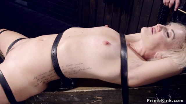 Bound gagged blonde gets nipples suctioned picture slut