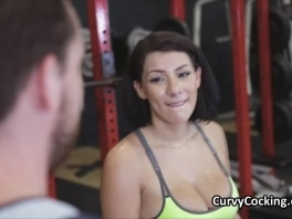Sweaty pawg big tit big cocked at gym picture slut