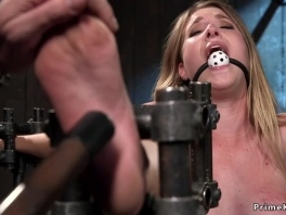 Hot sub in bondage pussy banged with toy picture slut