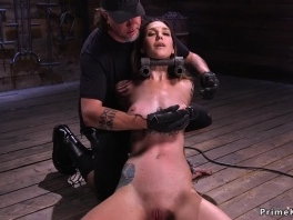 Locked head slave whipped on the floor picture slut