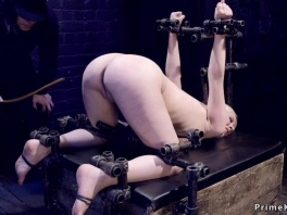 Device bondage blonde gets caned picture slut