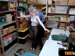 Cute Lexi Lore gets rough fucked by a security guard picture slut