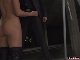 Horny blonde witch throats and analed reamed by huge dick picture slut