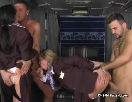 Best porn action Videos on the plane